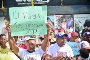 Marchan para demandar libertad de La Soga