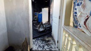 Incendio destruye tres viviendas en La Otra Banda de Santiago