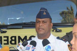 Destituyen al intendente bomberos Villa González Winston Toribio