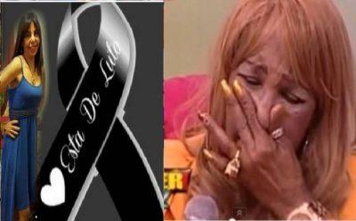 fallece la hija de Fefita La GRAnde