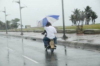 lluvias registradas en santiago