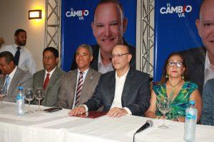 PRM  presenta a Ulises Rodríguez como candidato a la alcaldía del municipio