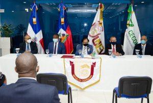 UNEV Y CECOMPITE acuerdan con Consulado de Haití -Santiago, para formar y capacitar profesionales haitianos residen en ambas naciones