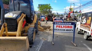 Coraasan intervendrá la avenida Estrella Sadhalá para efectuar trabajos