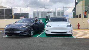 Aeropuerto Cibao instala estaciones de carga para vehículos eléctricos de forma gratuita