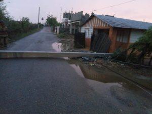 Edenorte informa salida de varios circuitos por vientos y fuertes lluvias